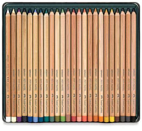 pastel colored pencils faber castell pitt pastel pencils blick materials