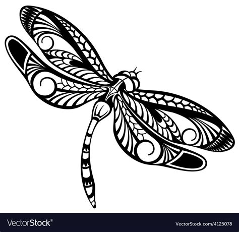 Dragonfly Royalty Free Vector Image Vectorstock Ancestry Stock Images Royalty Free Images Vectors