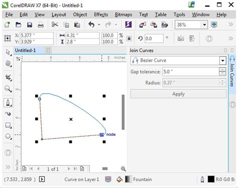 corel draw x4 join curves the a to z of coreldraw