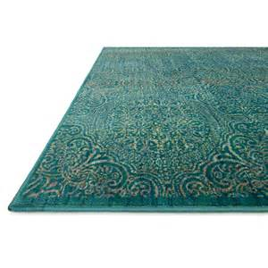 Madeline hand loomed teal area rug by loloi rugs