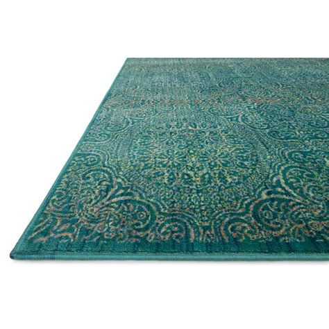 rugs teal madeline loomed teal area rug wayfair