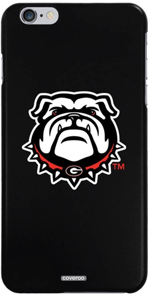 georgia bulldog head iphone   thinshield snap  case