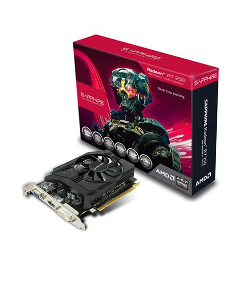 Sold Out Ati Radeon R7 240 Ddr5 1gb Mulus sapphire amd ati radeon r7 250 1gb ddr5 graphics card with