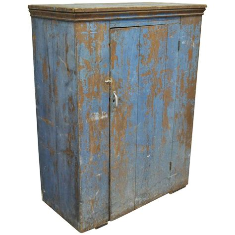 Cupboards For Sale | antique blue distress painted pa rustic primitive jelly