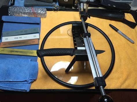 edgepro sharpener edge pro apex knife sharpening system reviewed