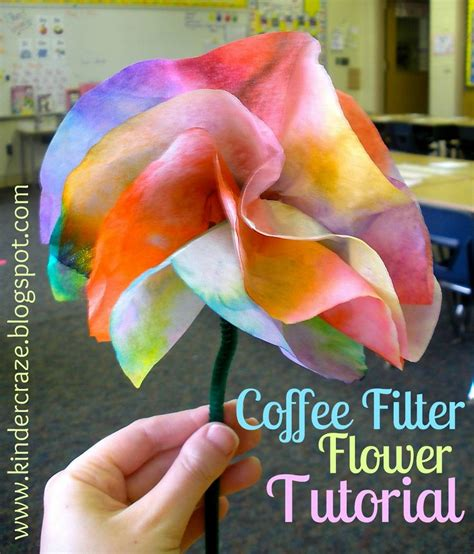 How To Make Wax Paper Flowers - 17 best images about mothers day ideas on