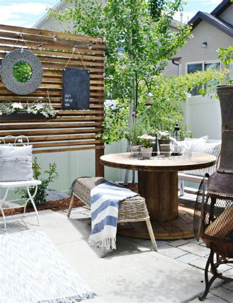 inexpensive outdoor patio ideas eclectic home tour my fabuless home