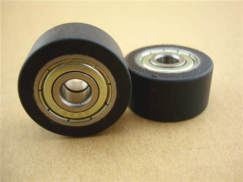 free shipping 31 5 mm roller wheel plastic bearing
