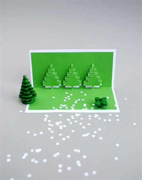 lego pop up card template pixel popup cards minieco
