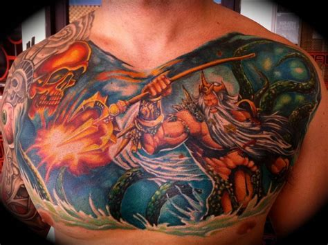 king neptune tattoo 150 awesome anchor ideas for and 2018