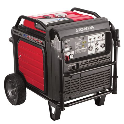 honda eu7000is inverter generator fuel injection mower