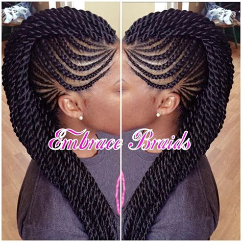 Braided Hairstyles On Instagram by Mohawk Cornrows Braids Braidedmohawk On Instagram