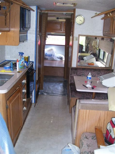 cer trailer kitchen ideas cer remodel on a budget for property 15 inpired photo