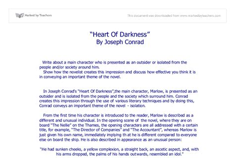Of Darkness Essay Topics by Of Darkness Essay Oocities Reportz436 Web Fc2