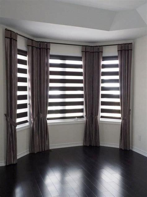 bay window ideas bay window blinds ideas how to dress up your bay window