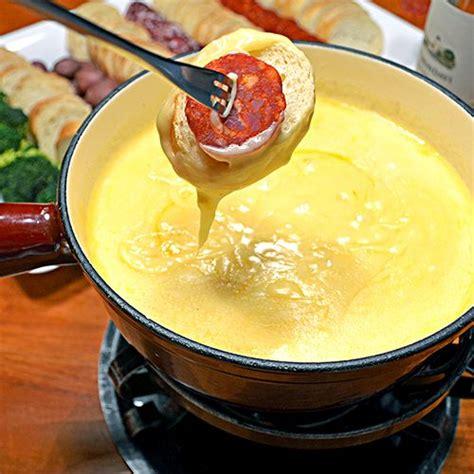 cheese fondue swiss cheese fondue food pinterest