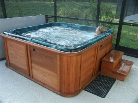bathtub hot hot tubs here s an indoor hot tub in a scree