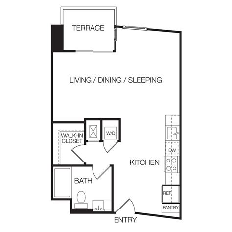 apartments for rent with floor plans studio apartments eastown hollywood apartments