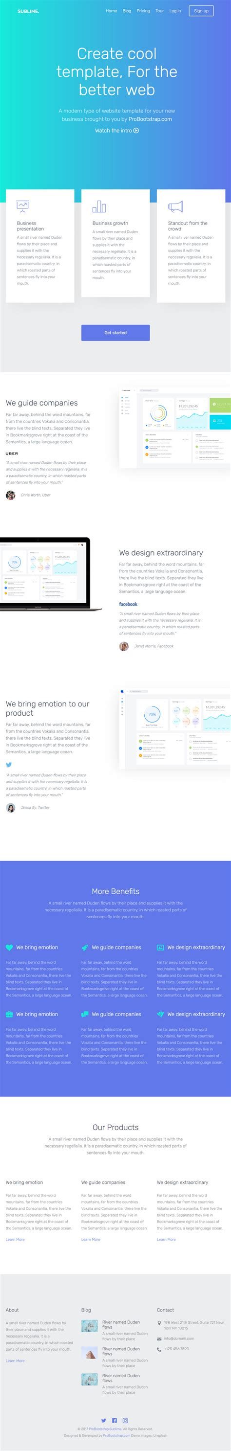 bootstrap newsletter template sublime free bootstrap website template bypeople