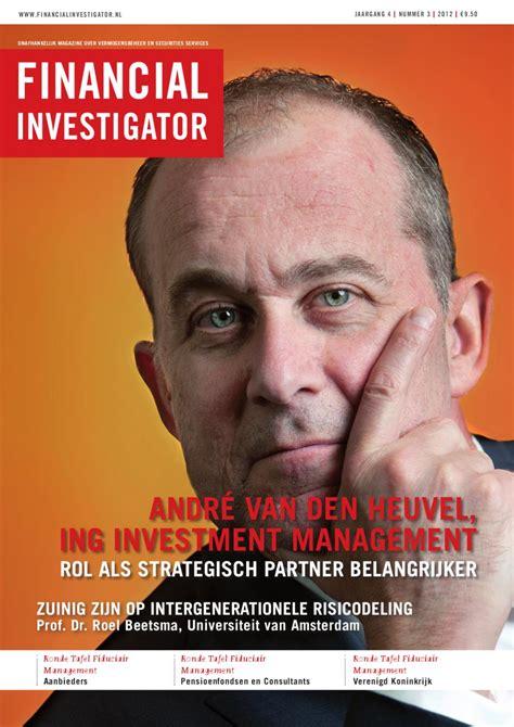 financial investigator jaargang 4 nummer 3 by