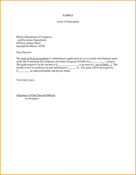 Transmittal Letter Generator Report Writing Letter Of Transmittal