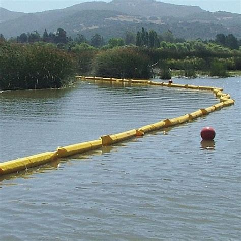 floating silt curtain floating turbidity barriers cherokee manufacturing