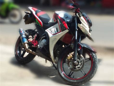 Modifikasi Fighter New Vixion modifikasi new vixion streetfighter 36 motorblitz