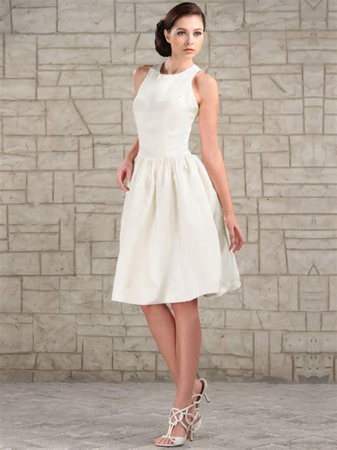 Hochzeitskleider Knielang Schlicht by Simple Knee Length Princess Wedding Dress Sang Maestro
