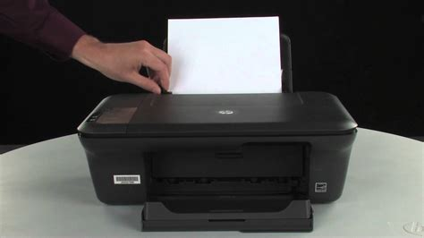 Printer Hp J1050 printing a test page hp deskjet 2050 all in one printer