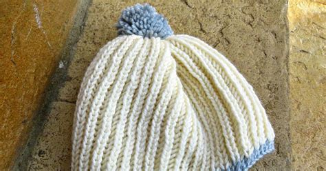 Subtle Version Of The Pom Pom Hat Me Stace by Just Saying Fisherman S Rib Pom Pom Hat