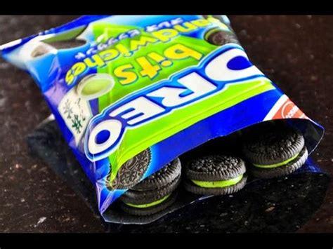 Oreo Oreo Bits Sandwich Matcha unboxing oreo matcha green tea bits sandwiches limited