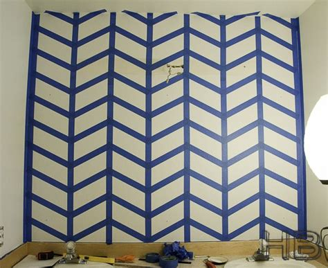 herringbone pattern accent wall how to paint a chevron herringbone pattern quot popular pins