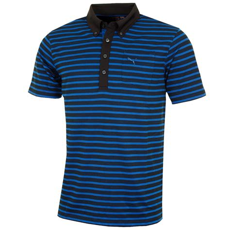 Big Stripe Pocket 2 golf mens stripe pocket polo shirt 568316 drycell tech sleeve ebay