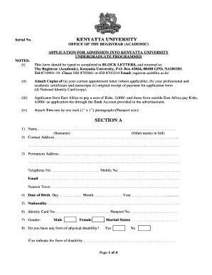Columbia Mba Application Fee Waiver by Application Forms Ku Fill Printable Fillable
