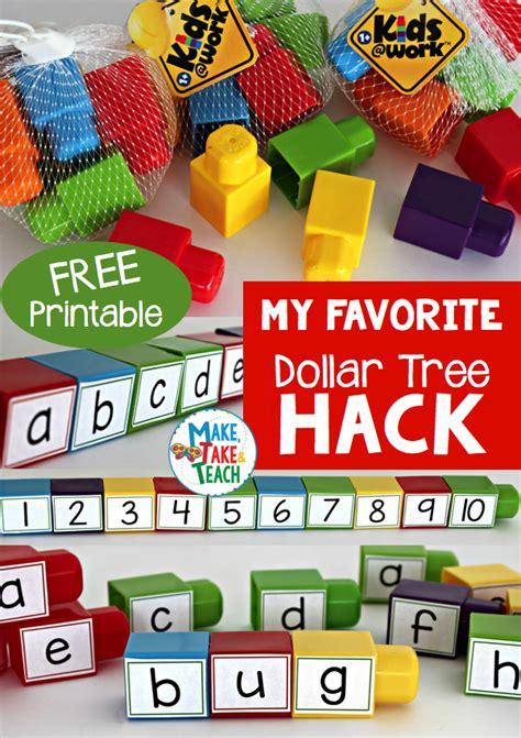 dollar tree hacks my favorite dollar tree hack make take teach