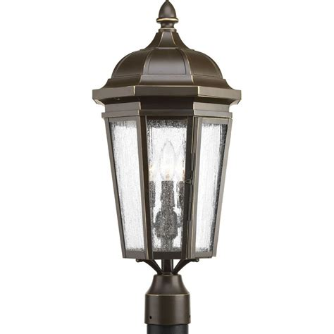 Antique Post Lights Outdoor Gama Sonic Flora Solar Antique Bronze Outdoor Post Light With 3 In Fitter Mount Gs 113f The