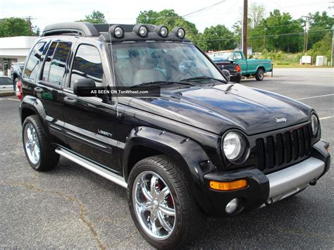 black jeep liberty 2002 image gallery jeep liberty renegade