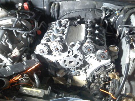 cadillac srx timing chain 05 srx ly7 post timing chain fail engine replace and build