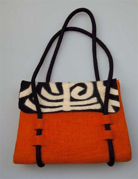 Handmade Felt Bags - handmade felt bag felted bags bags yarns
