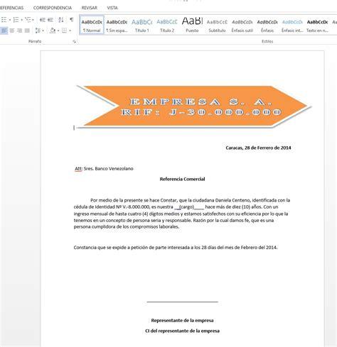 carta de trabajo en word plantilla de carta de trabajo constancia de trabajo en word facil y rapido
