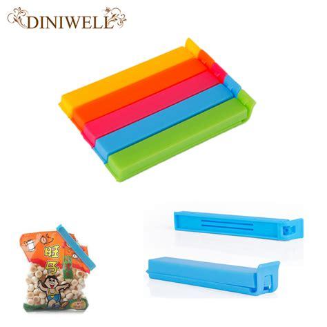 Clip Sealer Plastik Wrap 5pcs 5pcs sale home food clip seal bags storage sealing rods sealer for plastic bag