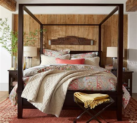Pottery Barn Canopy Bed Farmhouse Canopy Bed Pottery Barn