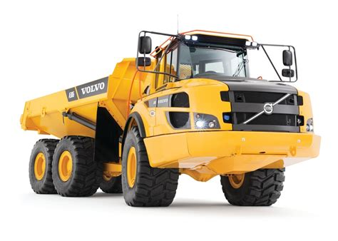 volvo dumper trucks volvo construction equipment a25g and a30g articulated
