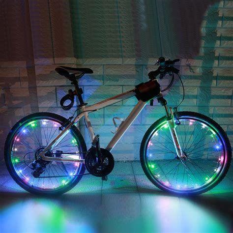Bicycle Led Set Of 2 Light bicycle led spoke lights set of 2 for your front and back