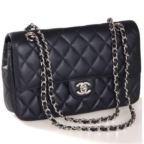 Bag Tas Chanel Classic Klasik Clasic brand new chanel classic jumbo flap lambskin shw black price reduced page 2