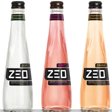 Unique Drink Bottle zeo soft drinks offer a unique experience with their and tingly sensation