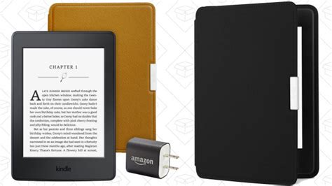 where to buy a kindle charger gizmodo buy a kindle paperwhite get a leather and
