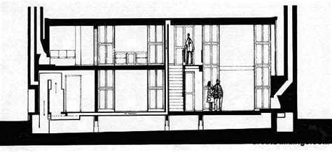 House Plans By Dimensions great buildings drawing esherick house