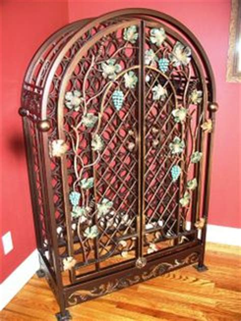 Bird Cage Wine Rack by Wrought Iron Bird Cage Look Wine Rack Versatile