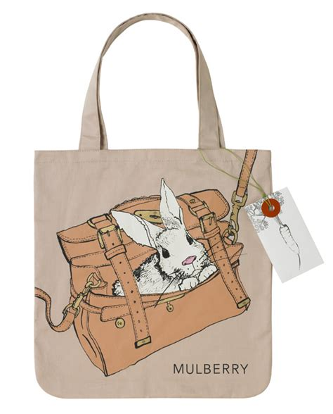 Mulberry Radcliffe Canvas Purse by Mulberry 2011 New York Fashion Show Invite Tote